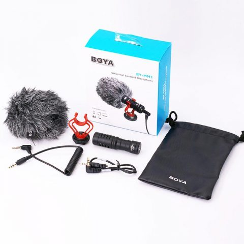BOYA BY-MM1 Mini Condenser Microphone