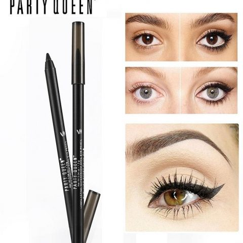 Party Queen Gel Eyeliner - Matte Black