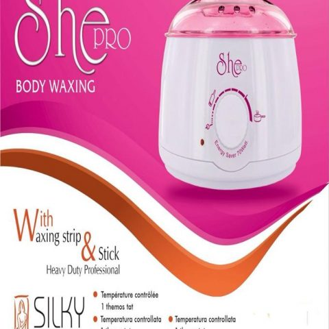 Waxing Machine - white & pink