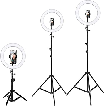 26 inch Ring Light with 7 ft Tripod Stand