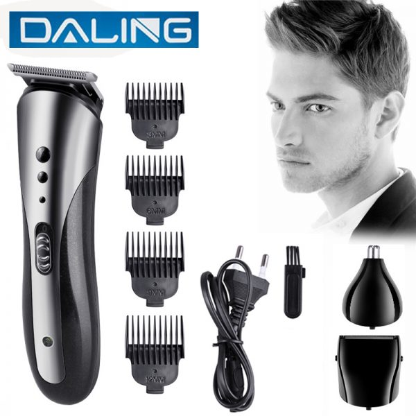 Professional Daling 3 in 1 Kemei Electric Hair Clipper Trimmer Shaver