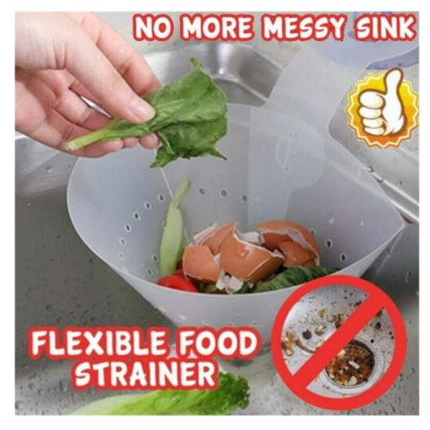 Self-standing Foldable Sink Drainer