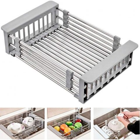 Expandable Sink Dish Organizer/Rack