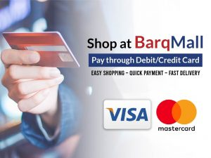 a step-to-step guide on how to pay through card at barq mall