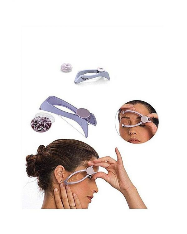 Face and Body Hair Threading System - Purple