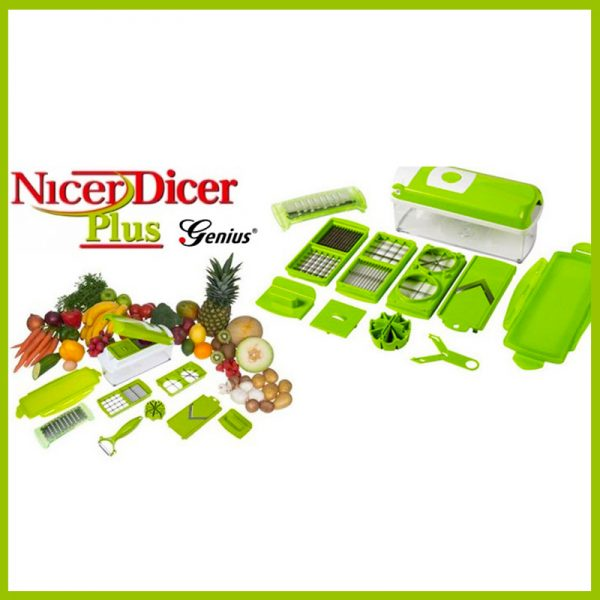 Speedy Dicer Plus 12 in 1 Fruit and Vegetable Slicer Precision Cutting